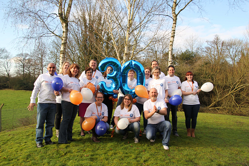 Thank You Worcester!  Acorns Children's Hospice Recognises  30 Years of Support