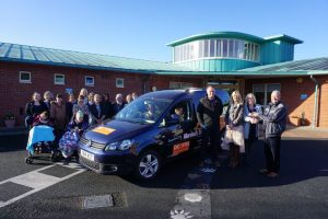 Transport Firm Makes Special Delivery  to Worcester Charity