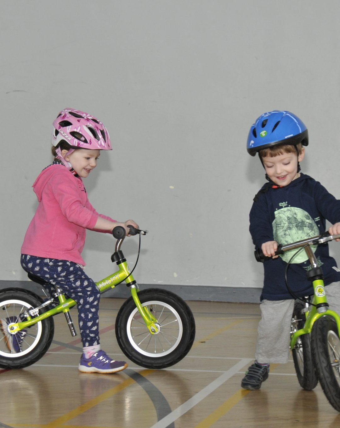 Children's learn to ride a bike course returns