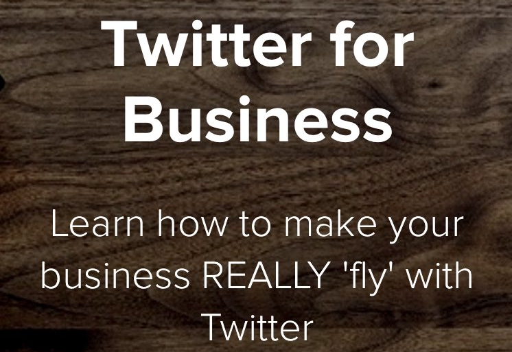 Twitter for Business Online Course: Learn how to make your business REALLY 'fly' with Twitter