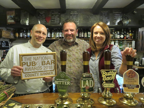 The Fleece Inn Named Best Pub in Worcestershire