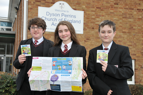 Young People Produce their Guide to Malvern