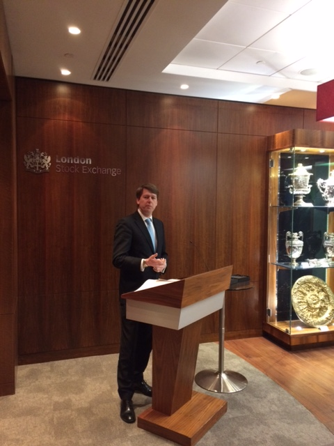 Walker Congratulates Local Business on Being Profiled by London Stock Exchange