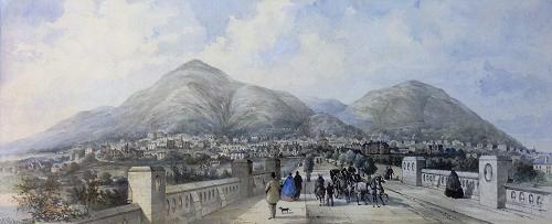 Restored Artwork Showcases Malvern's Past