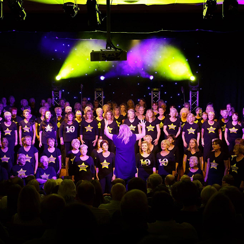 Choir Members in Fine Voice for Hospice