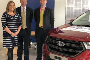 Local Dealership Supports Hospice with Car Scheme