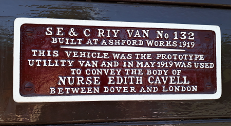Last Opportunity to Visit the Edith Cavell and the Unknown Warrior Train Carriage