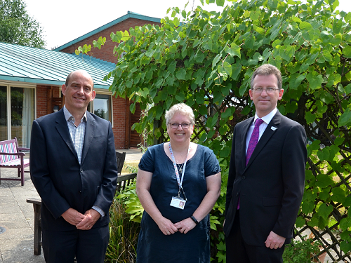 New Government Culture Secretary Visits Worcester Children's Charity