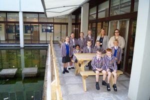 Seating and Breakout Area a Hit with Kidderminster Students