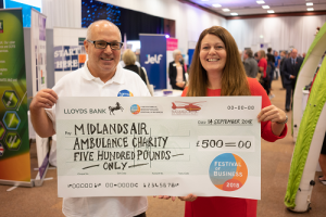 Worcestershire Festival of Business Boosts Trade & Air Ambulance Charity