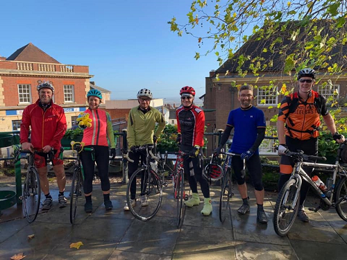 Council Staff Smash Target in Charity Cycling Challenge
