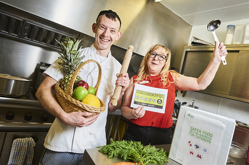 Hagley Care Home Chef Tastes Success after Achieving Five Star Food Rating
