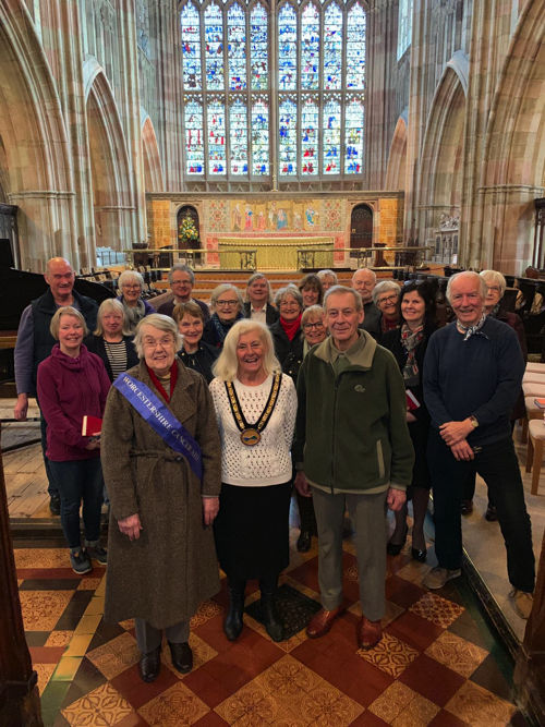 Council Chairman Takes On Church Choir Challenge for Charity