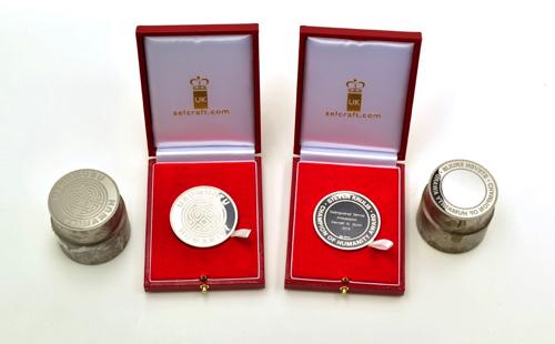 Respected Local Medal Designer Selcraft Exports for Rwandan Memorial