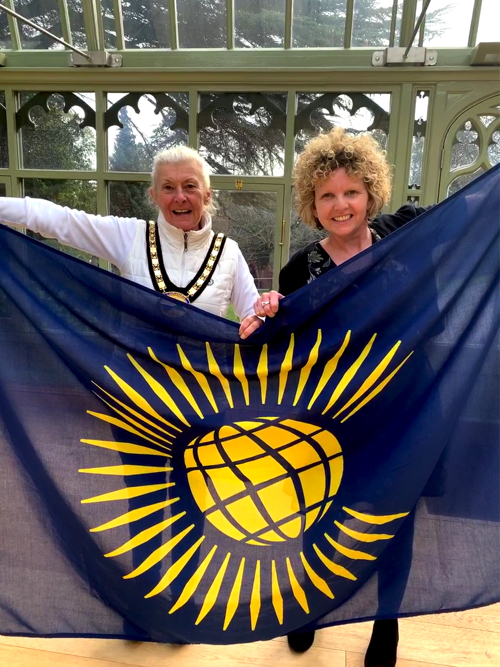Flag Flown to Mark Commonwealth Day 2019