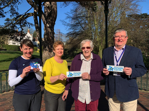 Malvern Hills Businesses Show Support with Dementia Friendly Stickers
