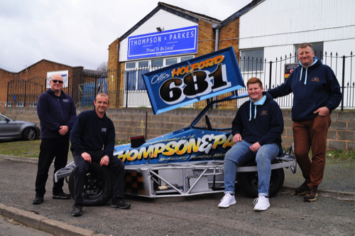 Kidderminster's Thompson & Parkes Building Supplies Sponsors Driving Talent