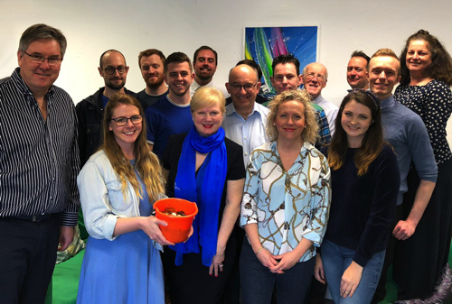 JMDA Go Blue & Kickstart Fundraising Campaign for RoSPA