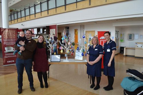 Over £800 Raised for Baby Unit with Decorated Easter Eggs