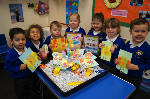 Crafty Easter Fun at Kidderminster Nursery