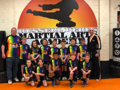 Local Martial Arts Academy Backs Young Wyre Forest Rugby Stars