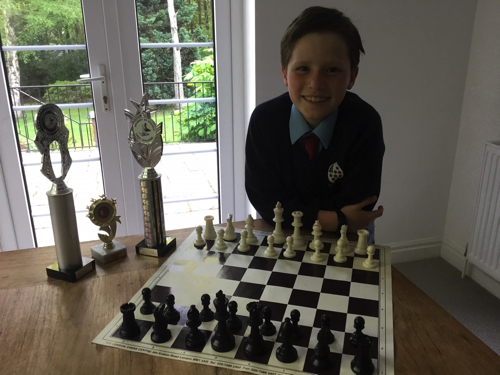 Hat-trick for Young Bewdley Chess Star