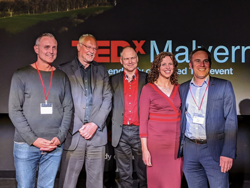 Watch the latest TEDxMalvern talks on 'Positive Progress and Optimism'
