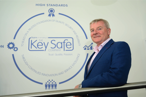 The Key Safe Company Unlocks New Office