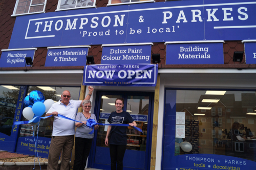 Local Builders Merchant Thompson & Parkes Open in Stourport With New DIY Retail Shop