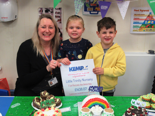 KEMP Special Guest at Kidderminster Nursery's Macmillan Coffee Morning