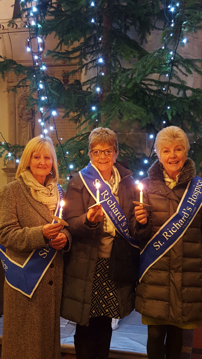 Jackson's Sponsor St Richard's Hospice 'Lights of Love' Services