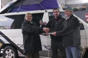 Worcester Garage Converts Van for Charity's West African Mission
