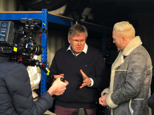 BBC One Show Film at JMDA Exploring Car Seat Recycling