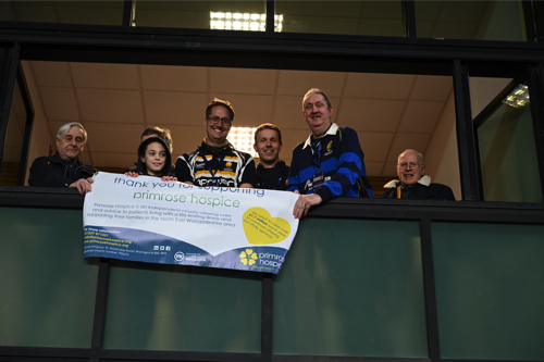 Rugby Fan Back at Sixways Thanks to Worcester Warriors and Primrose Hospice