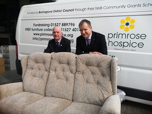 Hospice is Sitting Pretty After Donation of Chairs and Sofas from Willowbrook Mobility Direct