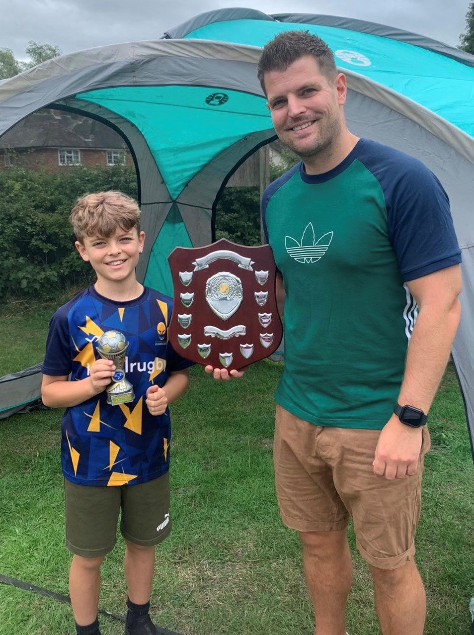 Club Award Recognises Junior Football Coach's Contribution