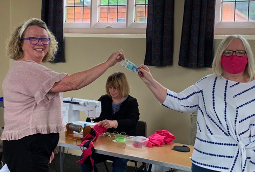 Sew Safe – Face Masks for Worcestershire Breast Unit Haven