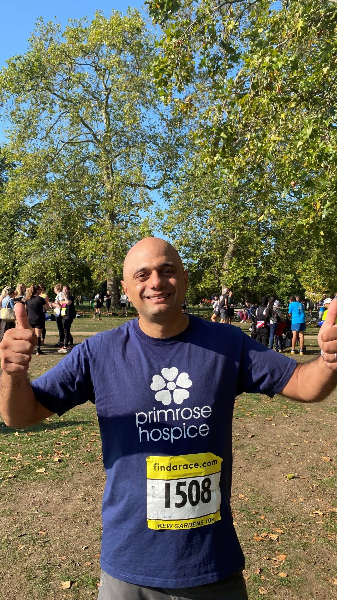 Sajid Javid Raises Over £13,000 for Primrose Hospice
