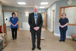 High Sheriff of Worcestershire Visits Primrose Hospice for Hospice Care Week
