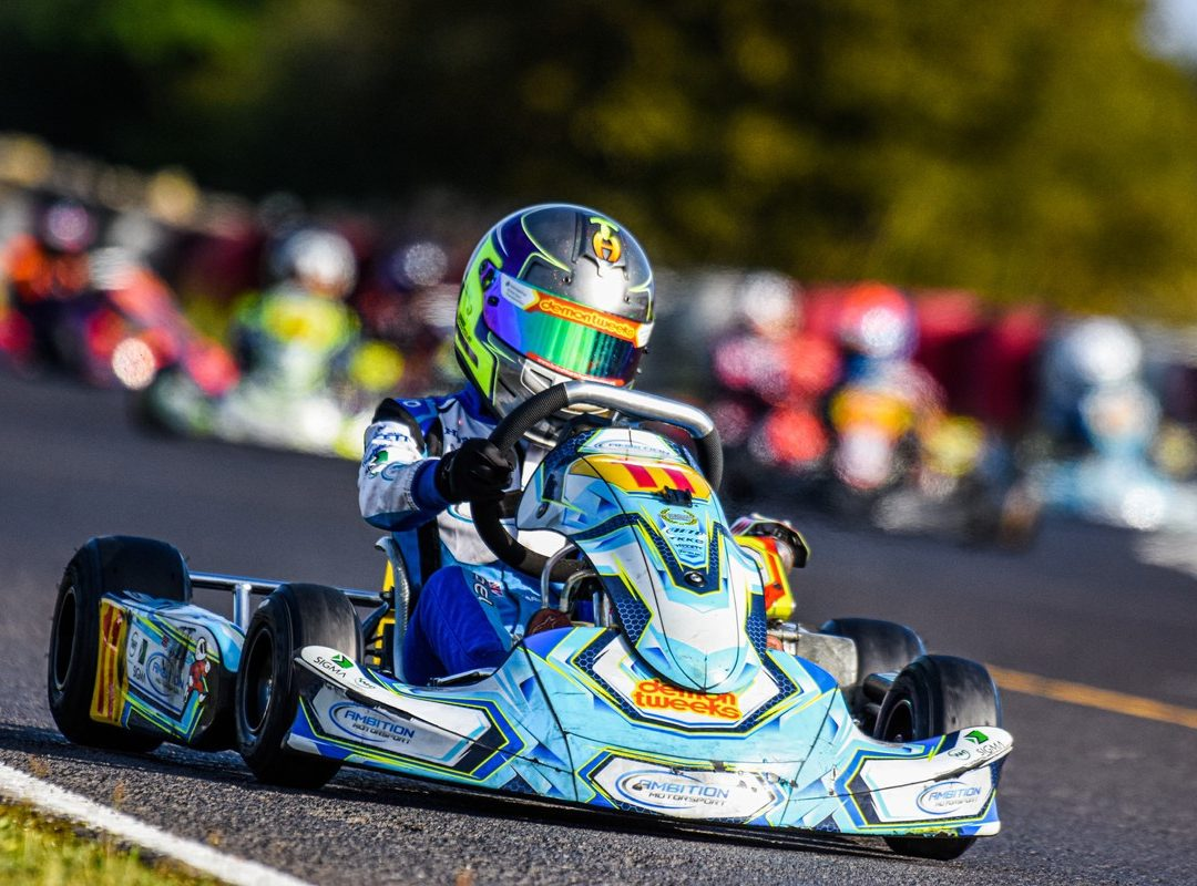 Karting Success as County Schoolboy Celebrates Championship Win