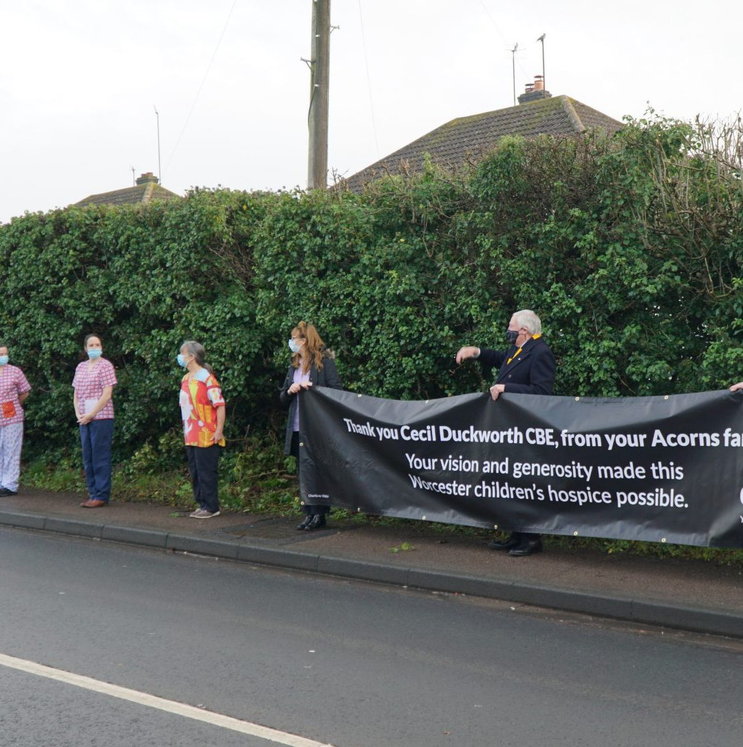 Acorns Staff Line the Street in Touching Tribute to Cecil Duckworth