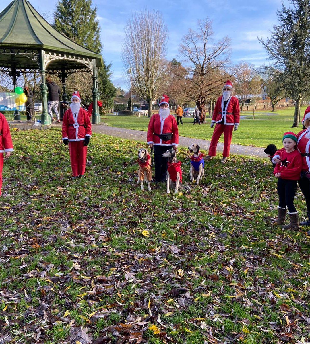 Early Christmas Present for Primrose as Santa Fun Run Raises Thousands