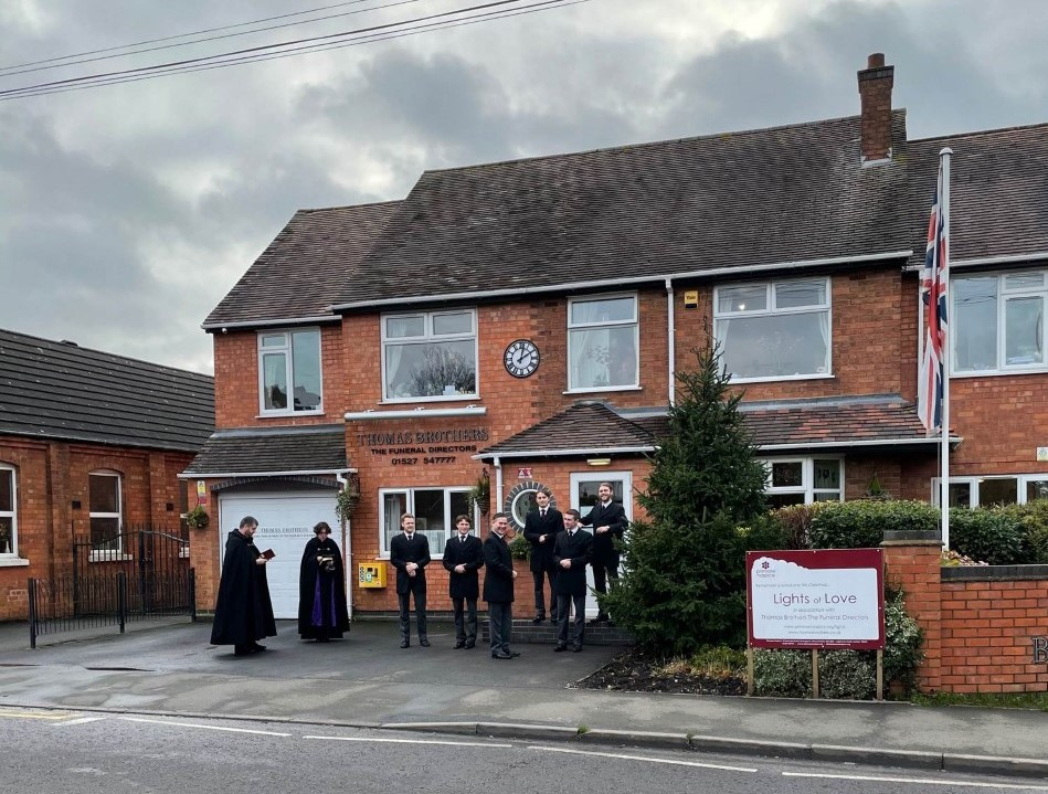 Lights of Love Tree for Primrose Blessed at Thomas Brothers