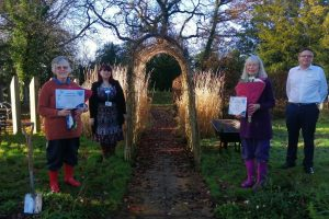 Gardening Volunteers Awarded for 25 Years' Service to Primrose