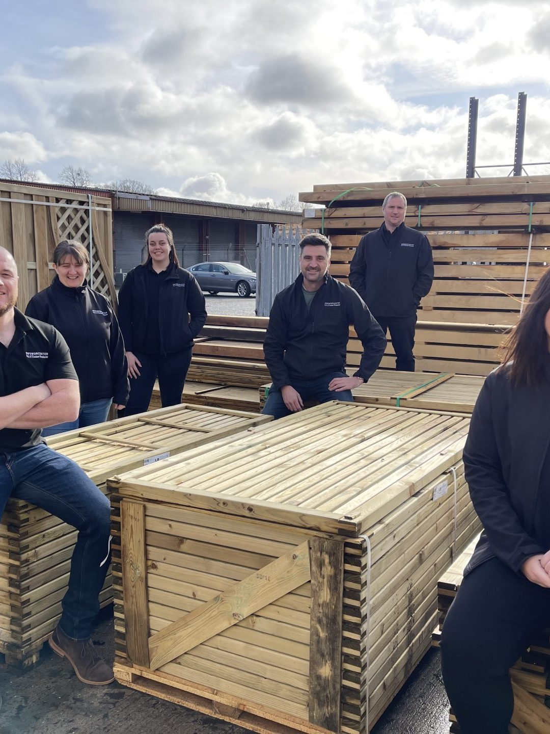 Worcester Timber Product 'Logs' New Team